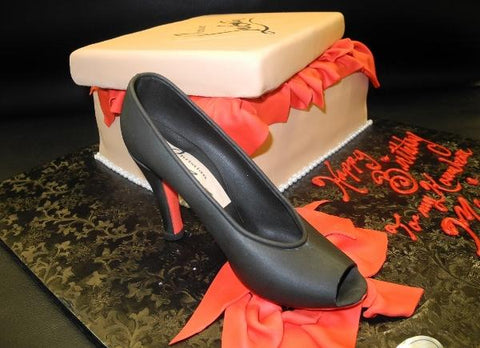 Red bottom heel, shoe, shoe box, christian loui vuitton