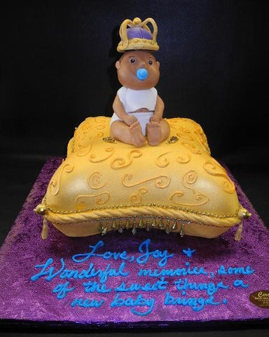 pillow, gold, baby, edible baby,prince