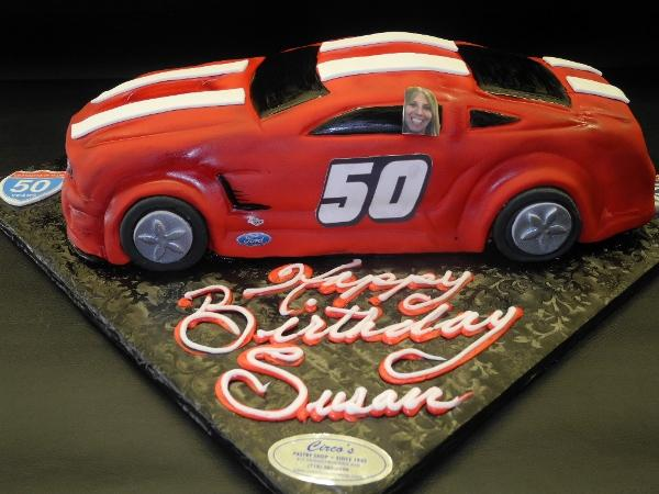 Car Fondant Edible Cake