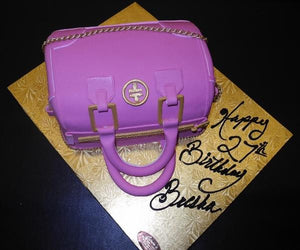 Tory Burch Fondant Bag Cake