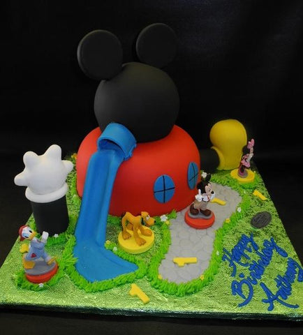 Mickey Mouse 3D Club House
