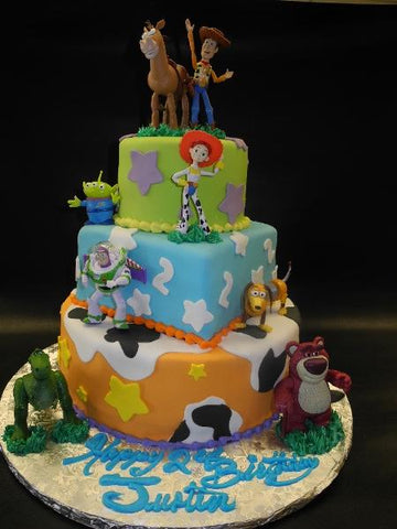 Toy Story Fondant Birthday Cake