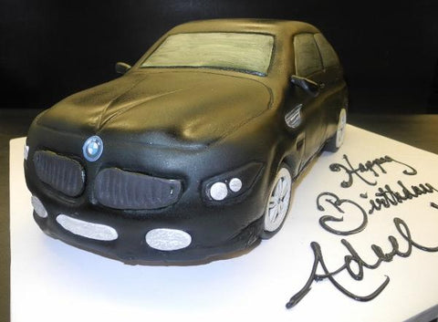 BMW Fondant 3D Edible Cake