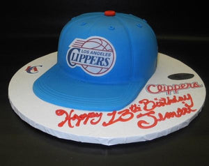 Hat Clippers Custom Fondant Cake