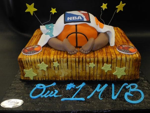 NBA Baby Bottom Cake - BS025