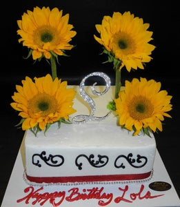 Sunflower Icing Cake 631