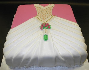 Bridal Shower Fondant Cake 141