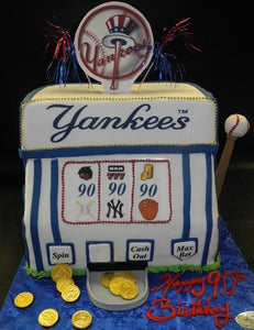 Yankee Slot Machine Fondant Cake 166