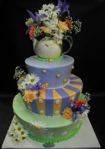 Alice in Wonderland Sweet 16 Cake