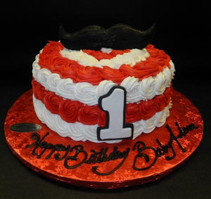 Wondrous Products Tagged Mustache Icing 1St Birthday Cake Circos Funny Birthday Cards Online Necthendildamsfinfo