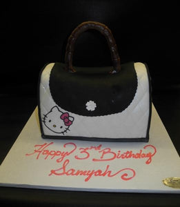 Hello Kitty Fondant 3D Purse