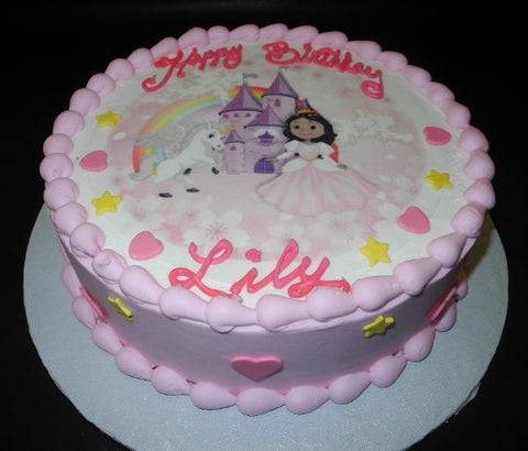 Little Pony Icing Cake with Edible Image on top