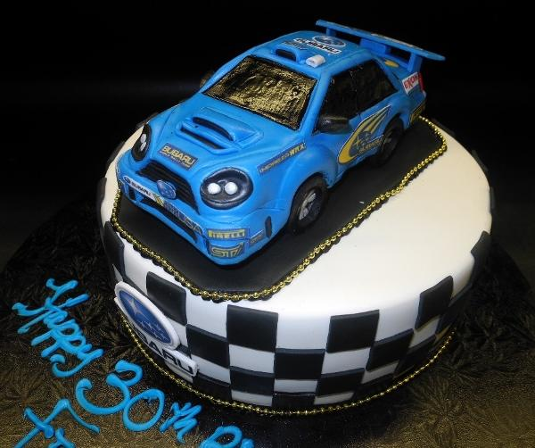 Car 3D Edible Fondant Cake