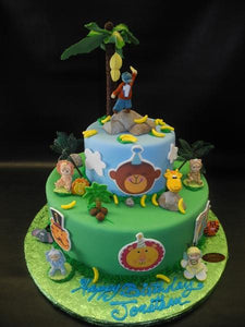 Safari 1st Birthday Cake