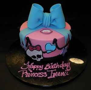 Monster High Fondant Cake