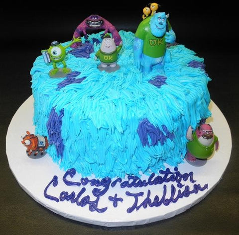 Monster Inc. Icing Cake