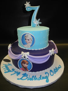 Frozen Cake 2 tier
