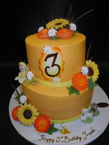 Superb Fall Birthday Cake B0106 Circos Pastry Shop Funny Birthday Cards Online Elaedamsfinfo