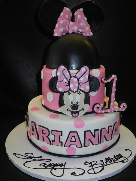 Minnie Mouse Cake 856