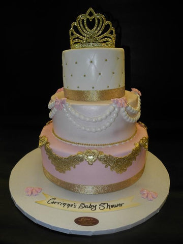 Gold Baby shower 323
