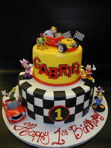 Mickey Roadster Cake