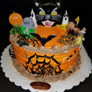 Halloween Cream cake
