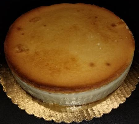 New York Cheesecake 10 inch.