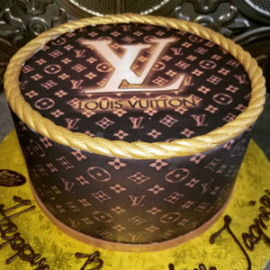 Louis Vuitton cake B0871