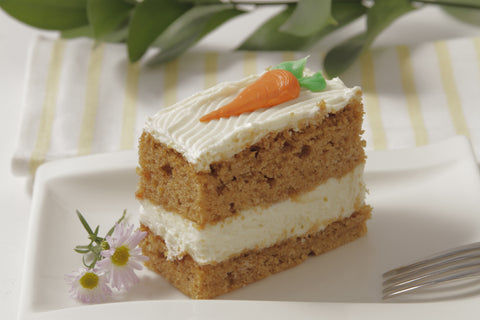 Carrot Cake Slice - For Local Delivery or Curbside Pickup ONLY