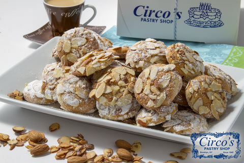 Sliced Almond Cookies