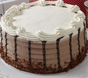 Chocolate & Vanilla Mousse cake For Local Delivery or Curbside Pickup ONLY