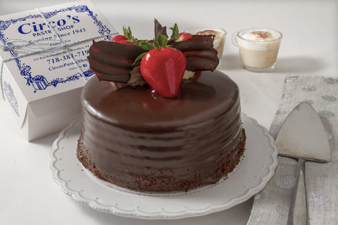 Chocolate Mousse Cake (BEST SELLER) For Local Delivery or Curbside Pickup ONLY