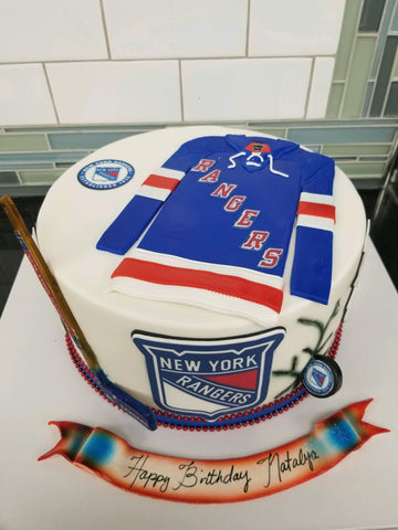 New York Rangers Cake CS 302
