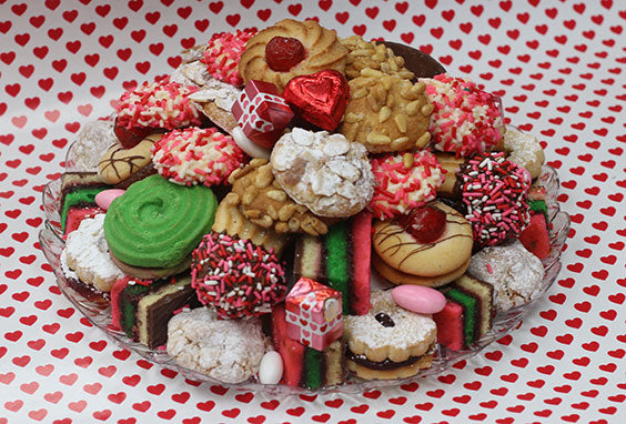 Valentine's Day Cookie Tray 2 Lb.