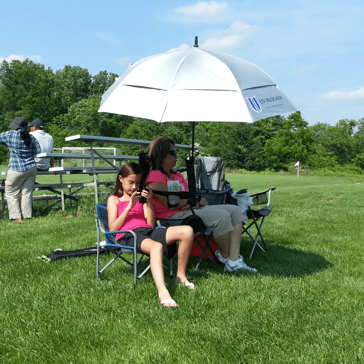 Umbrella Holder for Camp Chair