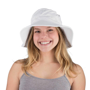 White Sun Hat Womens