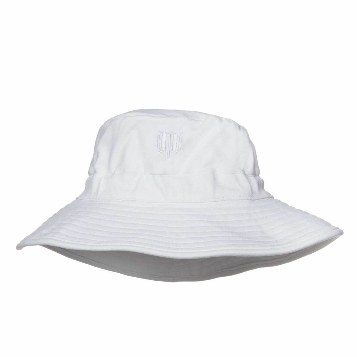 Womens White Bucket Hat - UV-Blocker