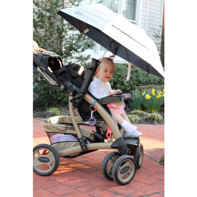 Umbrella Holder for Stroller, Chair or Wheelchair - UV-Blocker