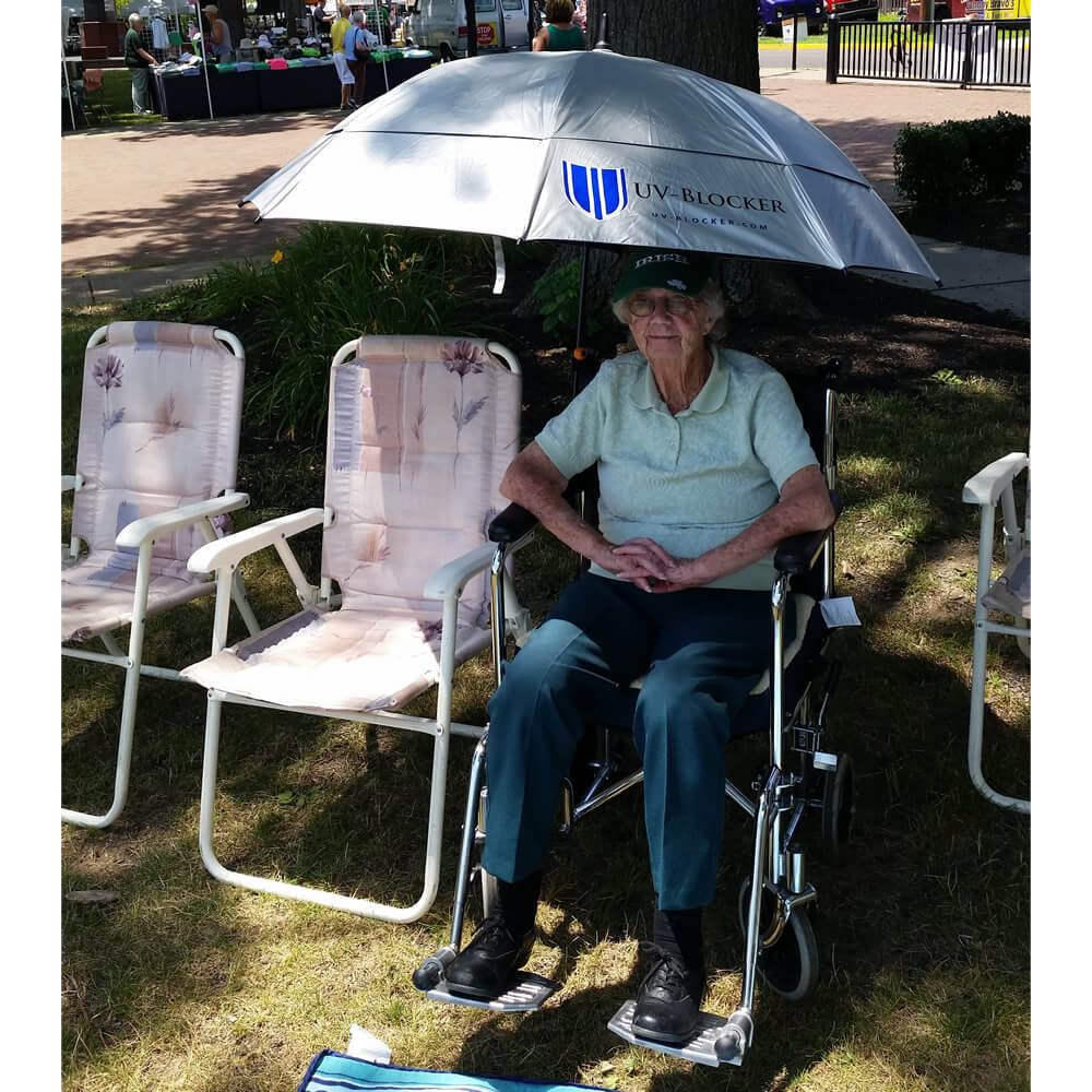 Umbrella Holder For Wheelchair