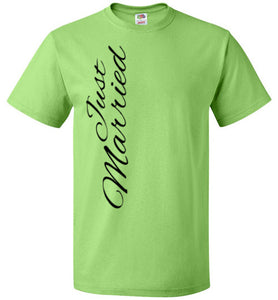 Just Married Classic Unisex T - MyChristy's