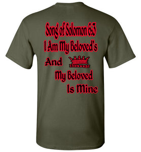 Gildan I Am My Beloved's Christian T Shirt - MyChristy's