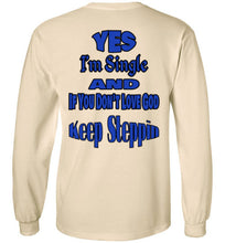 Yes I'm Single Long Sleeve - MyChristy's
