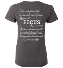 Focus Ladies T Shirt - MyChristy's
