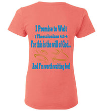 Cross My Heart Ladies T Shirt - MyChristy's