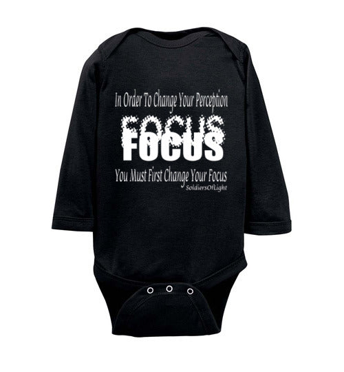 Focus Infant/Toddler Long Sleeve Body Suit - MyChristy's