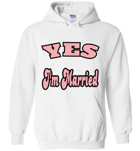 Gildan Yes I'm Married Hoodie - MyChristy's