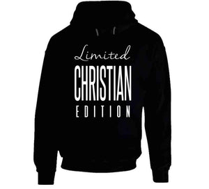 Christian Limited Edition T Shirt - MyChristy's