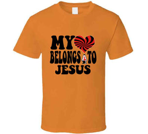 My Heart Belongs To Jesus T Shirt - MyChristy's
