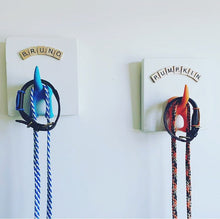 Handmade Personalised Dog Lead Hooks