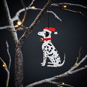 SALE- Dalmatian Christmas Tree Decoration / Ornament